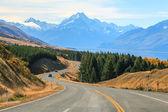Mountain Cook NewZealand — Stock Photo