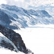 Stock Photo: Great Aletsch Glacier Switzerland