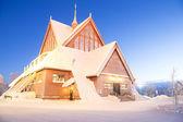 Kathedrale von kiruna schweden — Stockfoto