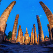 Sukhothai Historical Park Thailand Sunrise — Stock Photo #25662567