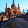 Sukhothai Historical Park Thailand Sunrise — Stock Photo #25718221