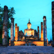 Sukhothai Historical Park Thailand Sunrise — Stock Photo
