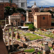 Ruin of Roman Forum — Stock Photo