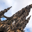 Scott Monument in Edinburgh Scotland  — Stock Photo