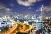 шоссе бангкок центр города — Стоковое фото