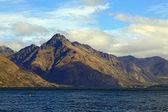 Lake Mountain Queenstown New Zealand — Stock Photo