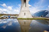 Falkirk Wheel, Scotland UK — Stock Photo