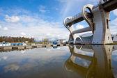 Falkirk wheel — Stockfoto