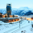 Stock Photo: Narvik Town Square