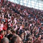 Liverpool vs Everton FA Cup Semi Final 2012 — Stock Photo