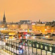 Stockholm Cityscape panorama — Stock Photo