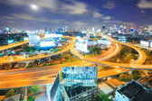 Bangkok Downtown Highway — Stock Photo