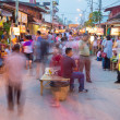 Rim Yom Night Market Sukhothai — Stock Photo