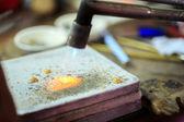 Zlatnické práce — Stock fotografie