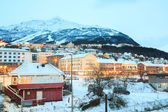 Narvik City Norway — Stockfoto