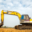 Stock Photo: Excavator Loader