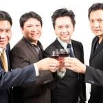 Business celebration — Stock Photo