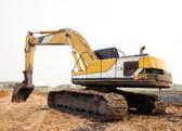 Excavator Loader — Stock Photo