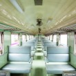 Empty seat locomotive — Stock Photo