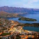 Queenstown Nya Zeeland — Stockfoto