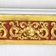 Thai Traditional Ornament painting on Temple wall — Stock Photo #29871533