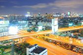 Bangkok Highway to Downtown — Stock Photo