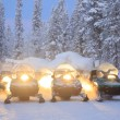 Snowmobile — Stock Photo #30040867