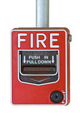 Fire alarm switcher — Stock Photo