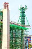 Under construction site, vertical — Stock Photo