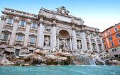 Trevi brunnen rom italien — Stockfoto