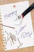 Szczęśliwy dzień pracy — Zdjęcie stockowe
