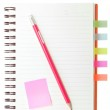 Index book and pencil — Stock Photo #30534027