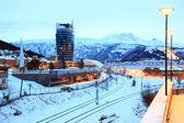 нарвик город городской пейзаж норвегии — Стоковое фото