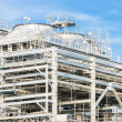 Stock Photo: Liquefied natural gas Refinery Factory
