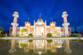 Mosque with reflection — Stock Photo