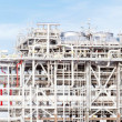 Panorama of LNG Refinery plant — Stock Photo