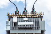 Electric transformer — Stock Photo