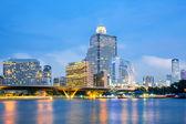 Bangkok Skyline — Stock Photo