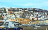 Tromso Norway Cityscape — 图库照片