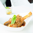 Lamb curry — Stock Photo