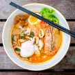 Tomyum noodle — Stock Photo