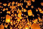 Sky Lantern — Stock Photo