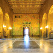 Stockholm City Hall ballroom — Stock Photo