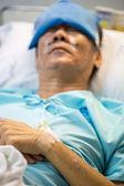 Patient sleeping — Stock Photo
