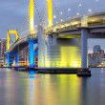 ponte de arco-íris Tóquio — Fotografia Stock  #37097717