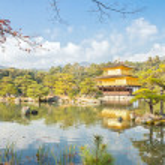 Kinkakuji Temple in Kyoto Japan — Stock Photo #38381191