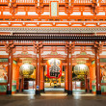 Sensoji temple Tokyo — Stock Photo