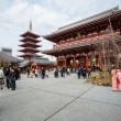 Tourist at Sensoji Temple — Stock Photo #38381891