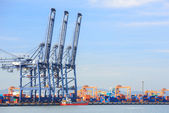 Big Industrial Port — Stock Photo