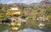 Kinkakuji temple kyoto japan — Stockfoto